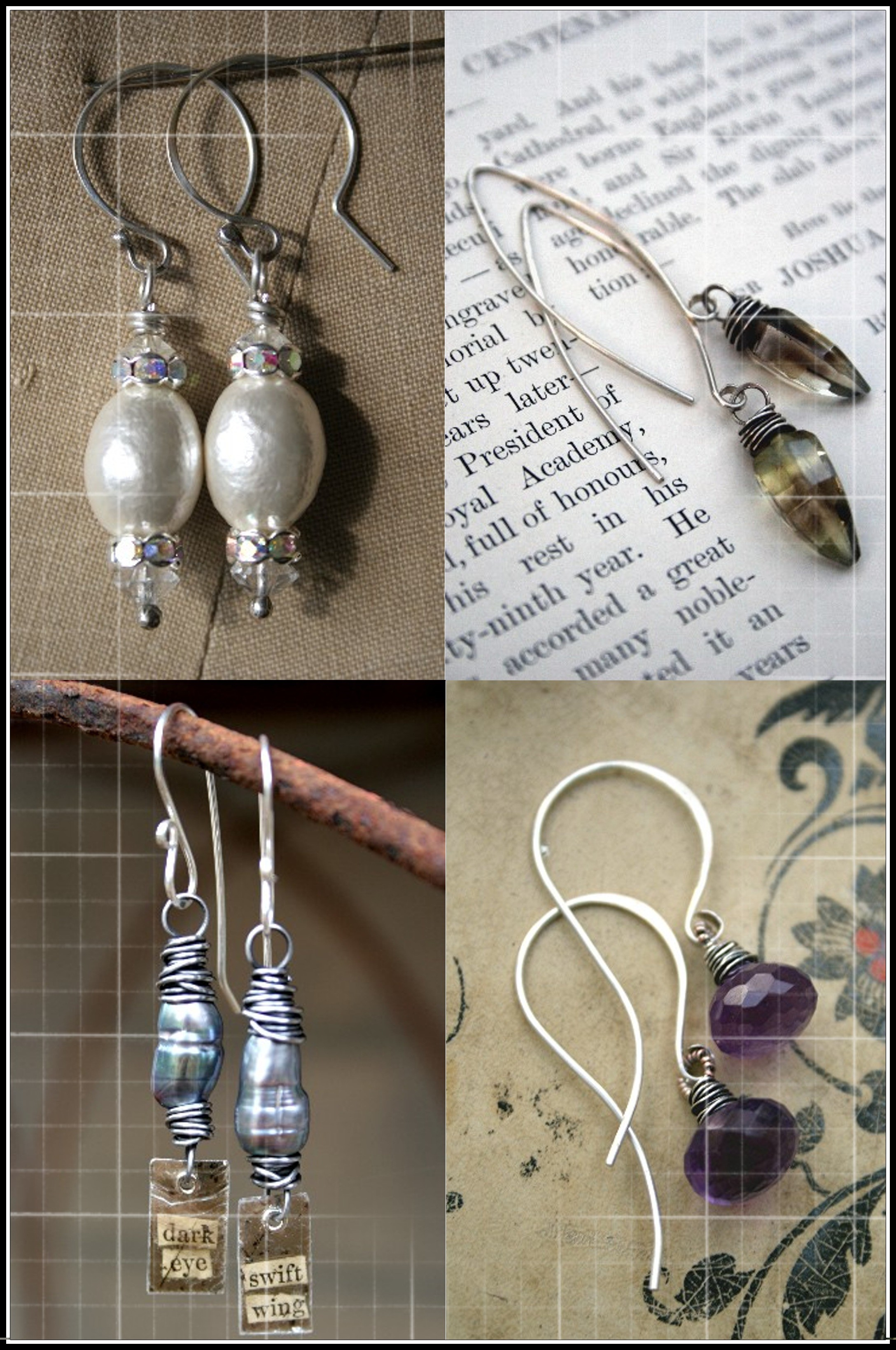 I Have A Pion For Beautiful Earrings Love To Wear Them And Make Because Also Crave Variety Ve Learned My Own Ear Wires