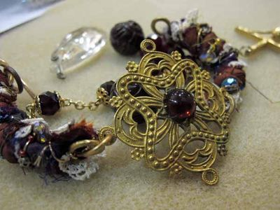 Wrapped bangle student work 1