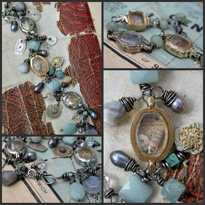 Charming Reliquary collage