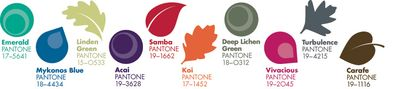Pantone fall colors 2013
