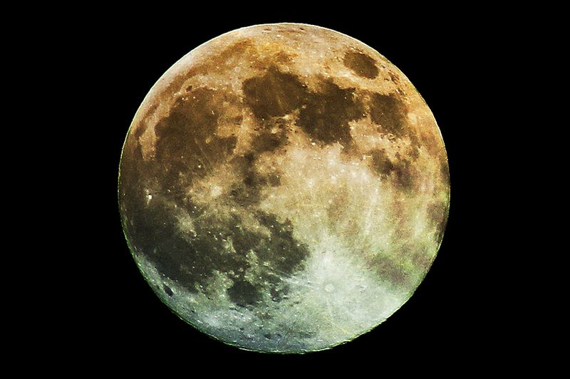 Supermoon June 2013 color2