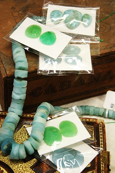 Amazonite and cabs