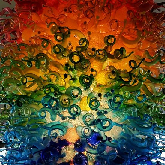 Chihuly chandelier 3