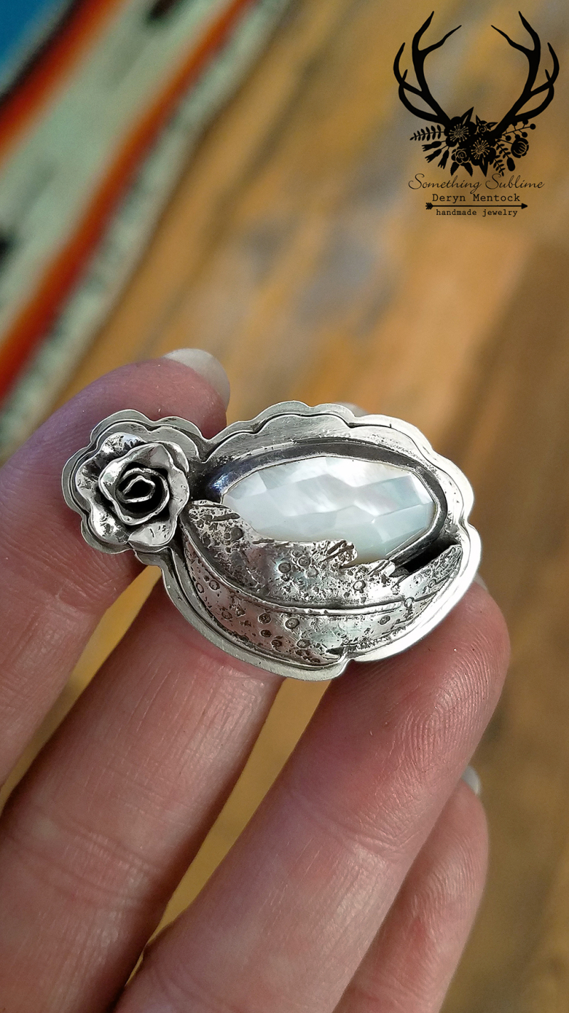 Mop rose ring 3