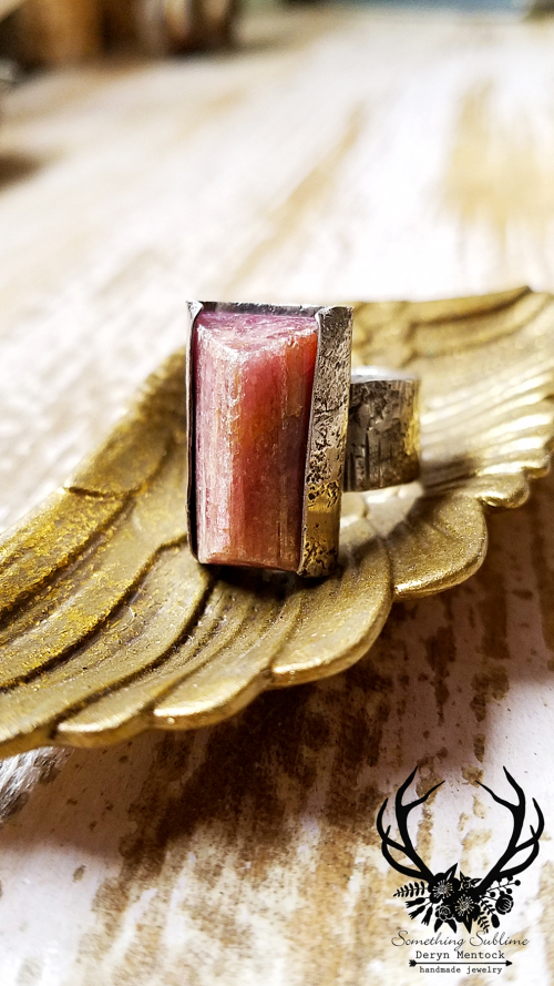 Tourmaline relic ring 1